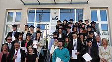 Bachelor-Abschlussfeier 2015